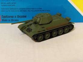 Russian T-34/57 Tank Destroyer AMA Models 600055 Plastic 1/87 Finished Model