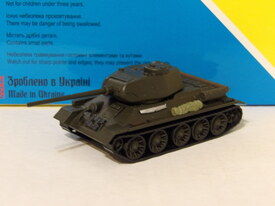 T-34/85 Early 1945 Version AMA Models 600054 Plastic 1/87 Finished Painted  Model