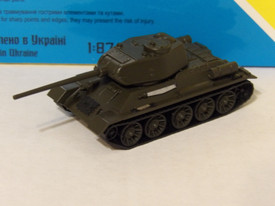T-34/85 Late 1944 Version AMA Models 600052 Plastic 1/87 Finished Painted