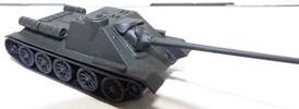 SU-85M Self Propelled Tank Destroyer AMA Models 509 Plastic 1/87 Finished Model