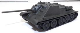 SU-85 Self Propelled Tank Destroyer AMA Models 499 Plastic 1/87 Finished Model