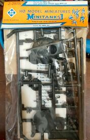 M60A2 Turret Accessory Set Roco Minitanks 297S NOS 1/87 Plastic Kit