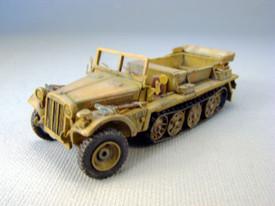 German WWII Sd.Kfz. 10, IzgKw Light Half Track Trident 87084 Resin 1/87 Scale Kit