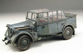 Horch 901 Type 40 Kfz. 15, Trident 87097, Resin 1/87 Scale Kit Unfinished
