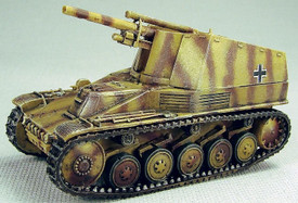 Sd.Kfz. 124 Wespe SP Artillery Trident 87108 Resin 1/87 Scale Kit Unfinished