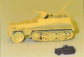 Sd.Kfz. 250/3 Half Track Command variant, Trident 90249 New 1/87 Plastic Kit