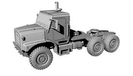Oshkosh MTVR Truck Tractor 6X6 Arsenal-M 114202631 Plastic Resin 1/87 Kit