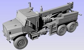 Oshkosh MTVR Wrecker Arsenal-M 114202611 Plastic Resin 1/87 Kit Unfinished