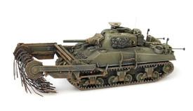 US/UK Sherman M4A4 Flail Tank Artitec 387.117 New 1/87 Minitanks Finished