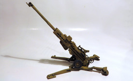 M777 Howitzer Trident 87167 Resin 1/87 Scale Kit Unfinished