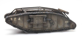 BRITISH TANK MARK IV FEMALE 1917 Artitec  1870116 Resin 1/87 Kit Unfinished