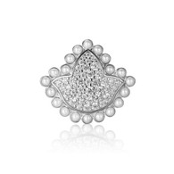 New- Ivy Diamond and Pearls Bead Charm