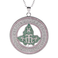 Alpha Kappa Alpha Chapter Medallion-Customizable