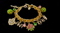 """Alpha Legacy Bracelet """"PINKY'S & IVY'S""""  (Gold)"""