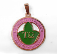 The Tau Omega  Chapter - Alpha Kappa Alpha Homecoming Medallion