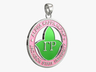 The Gamma Rho - Alpha Kappa Alpha Homecoming Medallion