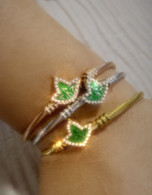 AKA Sorority Badge bracelet