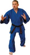 Blue Hayashi Single Weave Judo Uniform