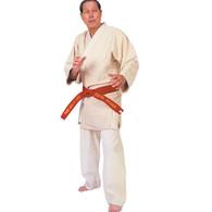 Unbleached Hayashi Single Weave Judo Uniform