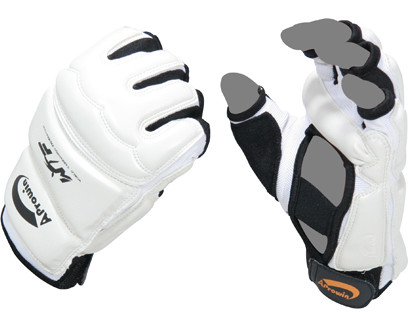 EVA material provides a high shock absorption to help prevent injury and breaks. Fabric provides excellent sweat absorption to keep hands dry during sparring. Palm has a strengthening bar which helps keep fist tight when clenched.