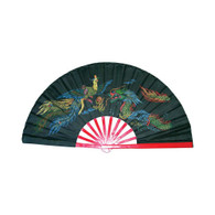 Black Bamboo Fan