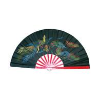 Black Bamboo Fan
