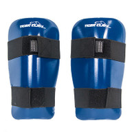 Blank Sparmaster Shin Guards Blue