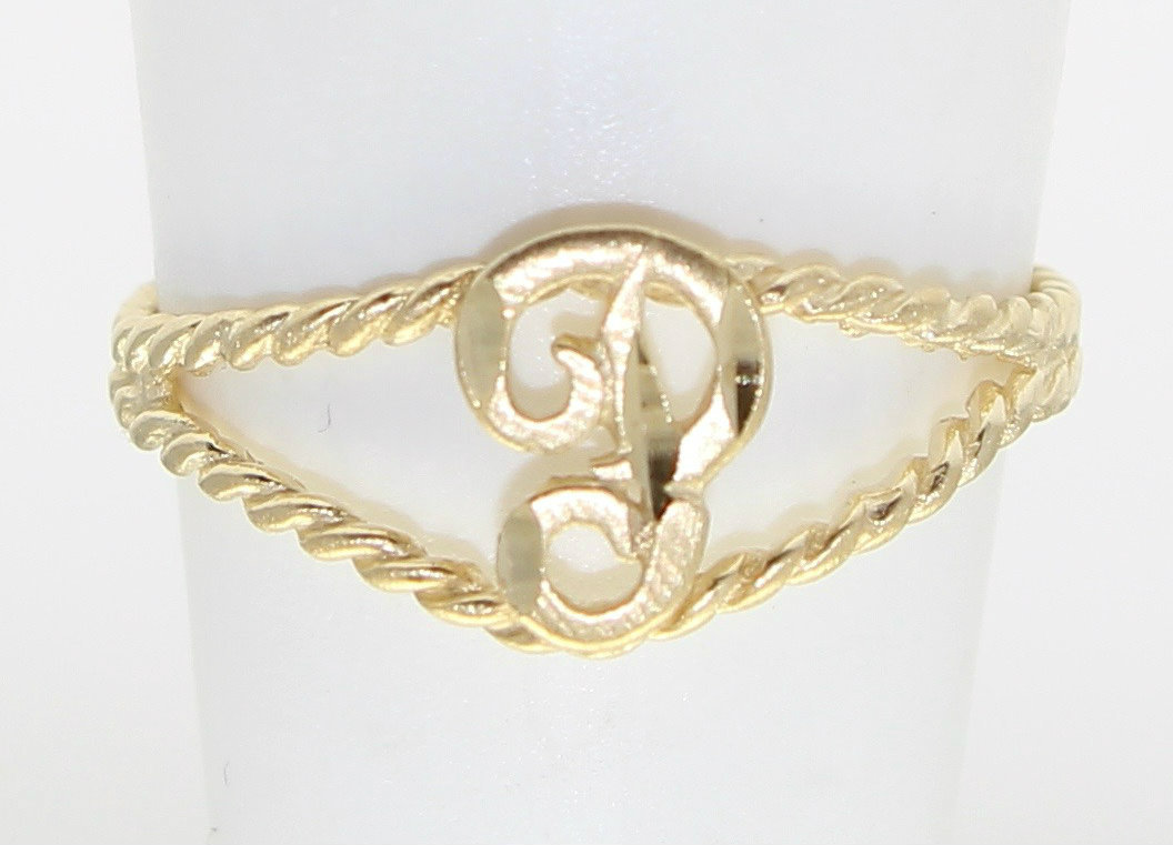 letter a gold ring 14k yellow gold cut letter p initial ring ebay 17510 | 5210.22.2015