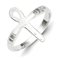 Sterling Silver Ankh (Egyptian) Cross Ring