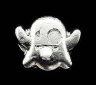 60.2 GRAMS HAND POURED GHOST SHAPED .999 PURE FINE SILVER BULLION BAR 1.93 OZT