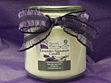 Purple Ranch Signature Candle