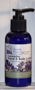 Lavender Hand and Body Lotion (4 oz.)