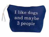 I like dogs and maybe 3 people Pouch