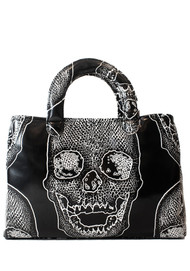 Stacy Bag - Black Skull