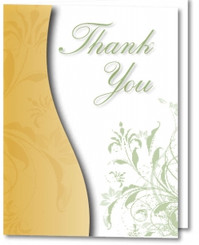 Thank You Cards with Envelopes 5904