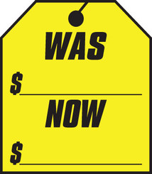 WAS-NOW Window Stickers