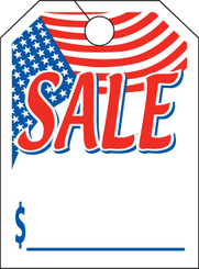 Mirror Hang Tags (Jumbo) Flag Sale