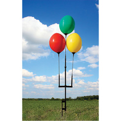 REUSABLE BALLOON GROUND POLE KIT:  (3) BALLOONS - QTY. 1
