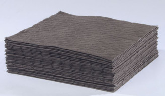 "Universal (Gray) Meltblown Laminate (low lint) Pad: 15"" x 18"""
