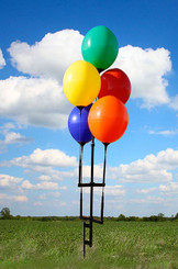 REUSABLE BALLOON GROUND POLE KIT:  (5) BALLOONS - QTY. 1