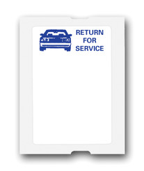 """Return for Service"" Generic Roll Labels"