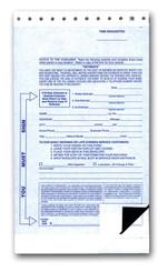 Night Drop Envelopes 2 Part  - 100 per pack