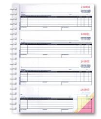 2-Part Purchase Order Books   (Form# NC-124-2 ) PLAIN