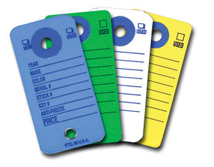 Colored Key Tags   Form #CT 5