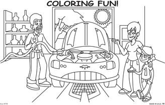 Coloring Pad