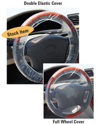 Double Elastic   Steering Wheel Covers