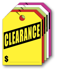Mirror Hang Tags (Jumbo) CLEARANCE