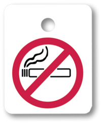 No Smoking Key Fob