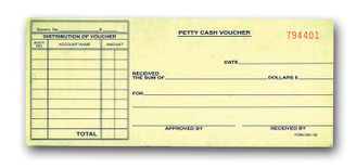 Petty Cash Voucher   Form# DSA 130