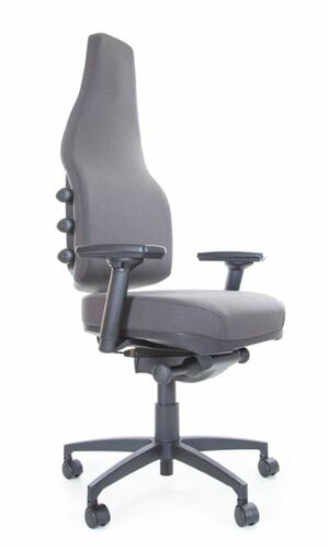 ergonomic office chair grey lismore